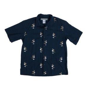 Billabong Vintage Hawaiian Aloha Camp Shirt Large